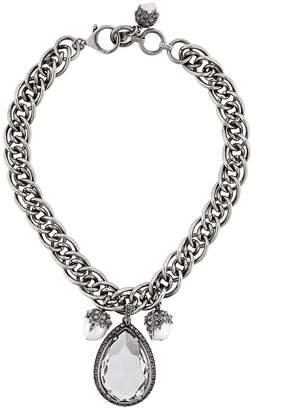 Alexander McQueen jewelled necklace