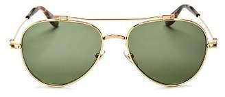 Givenchy Men's Brow Bar Aviator Sunglasses, 59mm