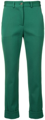 Societe Anonyme slim-fit tailored trousers
