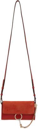 Chloé Red Faye Wallet Bag