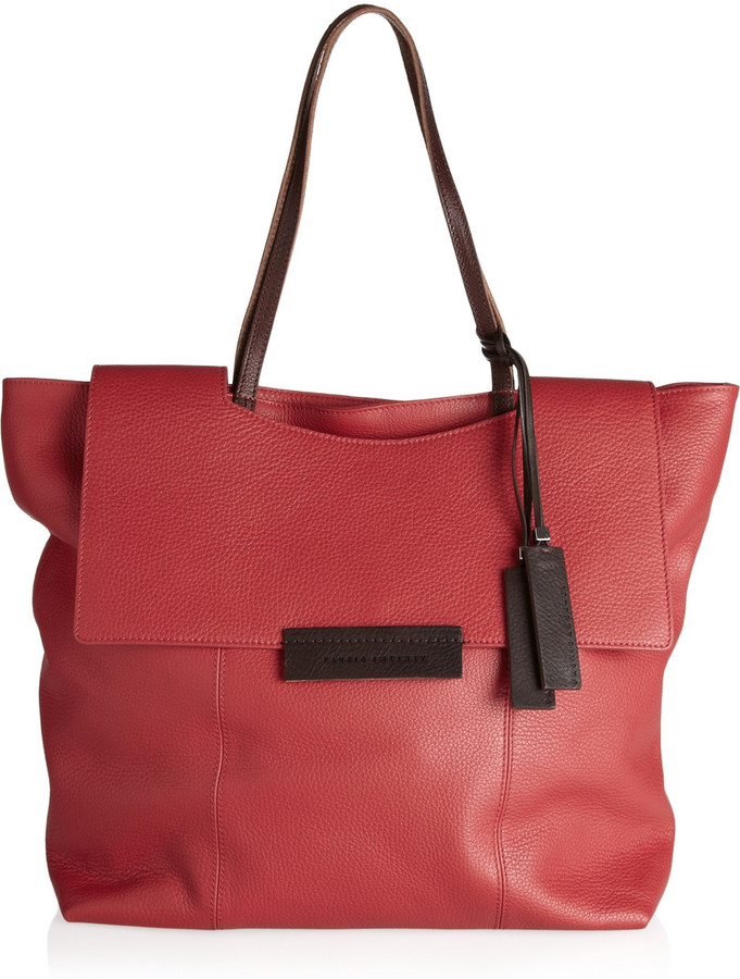 Pauric Sweeney Textured-leather tote