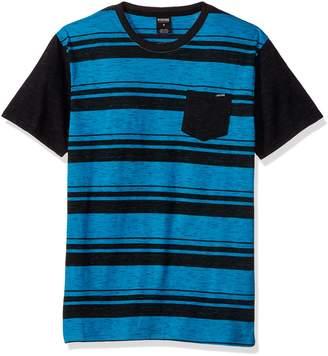Zoo York Men's Short Sleeve Crew Shirt with Front Pocket