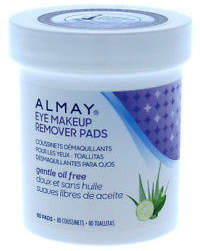 Almay Oil-Free Eye Makeup Remover Pads 80 Pc Make Up