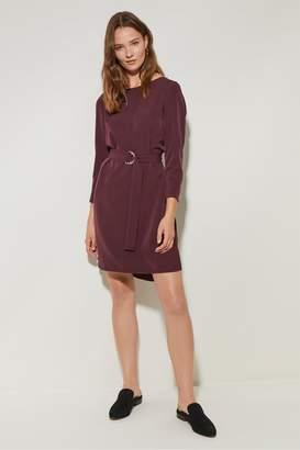 Great Plains Details Tie Waist Dress