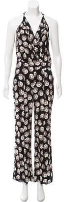 Diane von Furstenberg Sleeveless Silk Jumpsuit