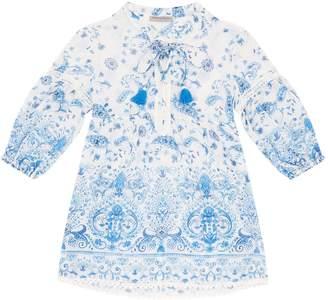 Ermanno Scervino Paisley Print Tunic Dress