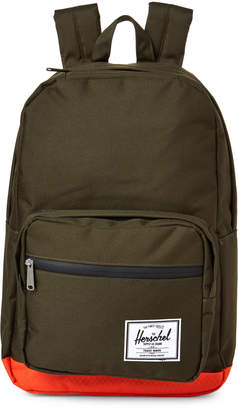 Herschel Forest & Orange Pop Quiz Backpack