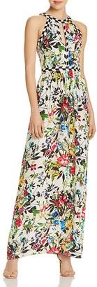 Parker Luella Printed Silk Maxi Dress $388 thestylecure.com