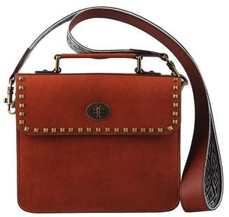 Most Wanted Design by Carlos Souza The Downtown Chic Leather Crossbody Bag