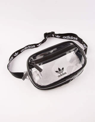 adidas Clear Black Fanny Pack