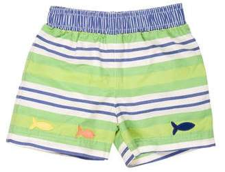 Florence Eiseman Boys' Striped Swim Trunks