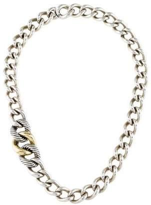 David Yurman Curb Link Chain Necklace