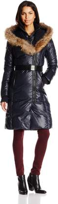 Rudsak RUD by Women's Jasmine Long Luxurious Quilted Down Coat