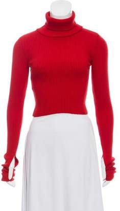 Jacquemus Rib Knit Turtleneck Sweater
