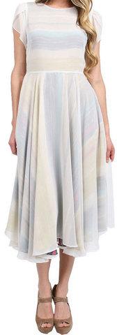 Karen Zambos Addie Dress Multi Stripe