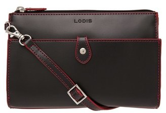 Lodis 'Audrey Collection - Vicky' Convertible Crossbody Bag - Black $132 thestylecure.com