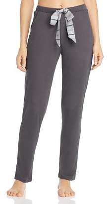 Hanro Stripe-Drawstring Knit Pants