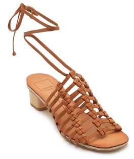 Dolce Vita Kai Leather Macrame Sandals