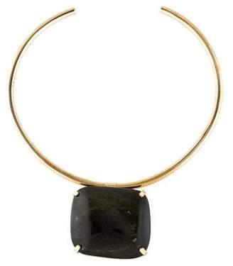 Philippe Ferrandis Resin Collar Necklace