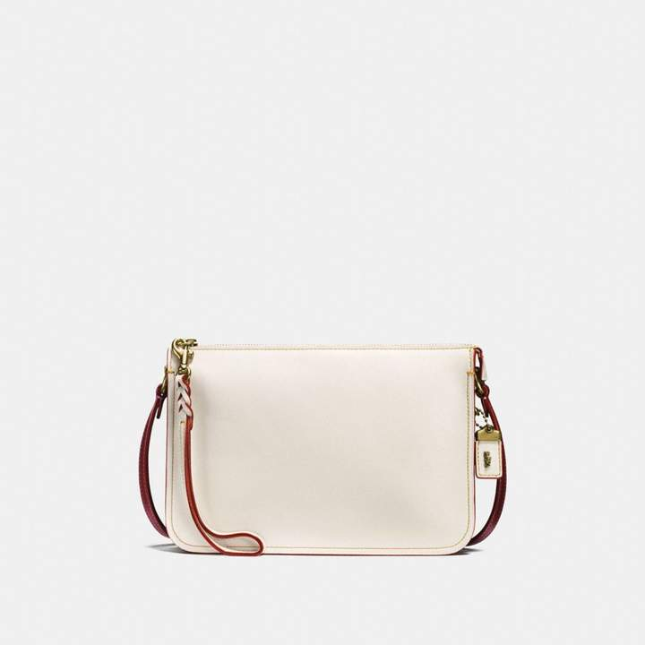 Coach New YorkCoach Soho Crossbody In Colorblock - CHALK/OLD BRASS - STYLE