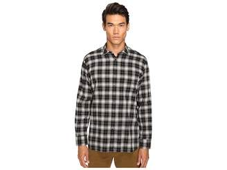 Billy Reid John T Plaid Button Up Men's Long Sleeve Button Up