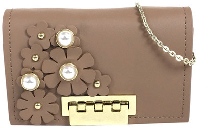 ZAC Zac Posen Earthette Floral Card Case