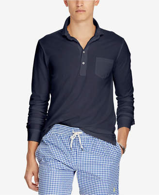 Polo Ralph Lauren Men's Big & Tall Classic-Fit Long Sleeve Mesh Shirt