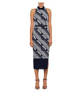 Manning Cartell Geometry Set Sheath Dress