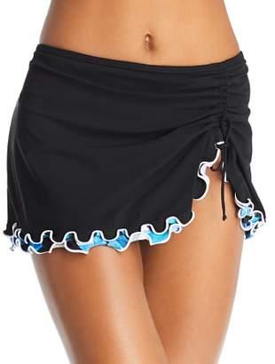 Gottex Profile by Tidal Wave Skirted Bikini Bottom