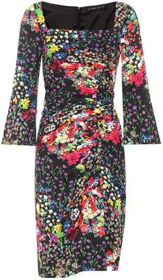 Etro Floral-printed jersey dress