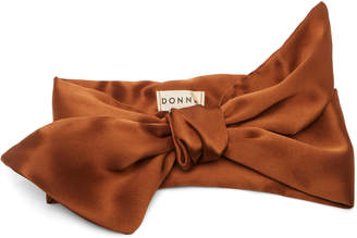 Donni. Poppy Knotted Silk Headband