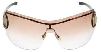Gucci Horsebit Shield Sunglasses