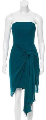 Jason Wu Silk Knot-Accented Dress