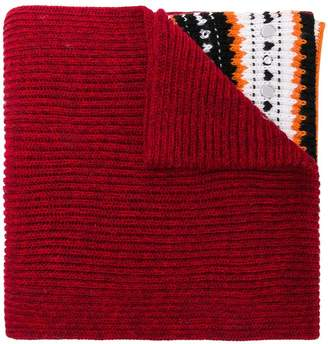 Dondup embellished knit scarf