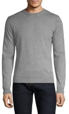 Corneliani Long-Sleeve Wool Sweater