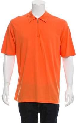 Brunello Cucinelli Half-Zip Polo Shirt