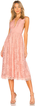 NBD Mary Lynn Midi Dress