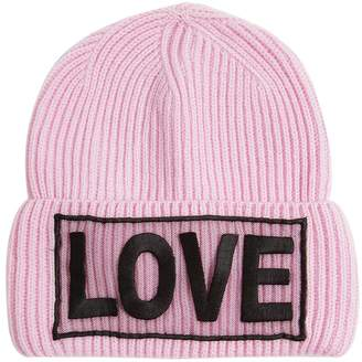 Versace Love Knitted Wool Beanie Hat