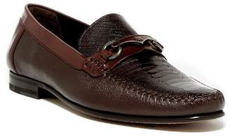 Mezlan Genuine Ostrich Bit Loafer