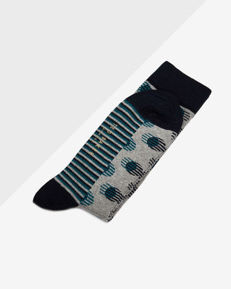 Striped and spotted socks $15 thestylecure.com