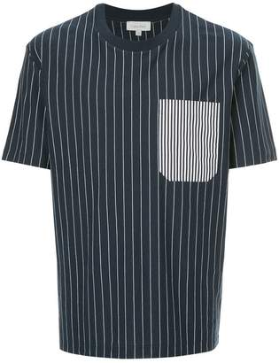 CK Calvin Klein striped pocket T-shirt
