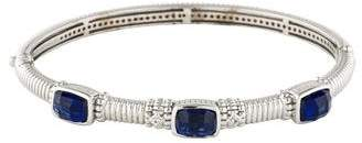 Judith Ripka Triple Stone Bangle