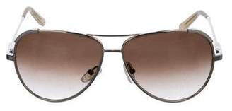 Chloé Gradient Aviator Sunglasses