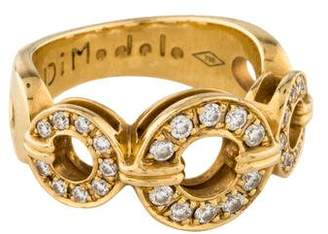 Di Modolo 18K Diamond Tempia Ring