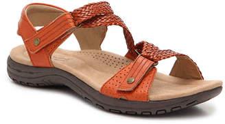 Women's Stella Wedge Sandal -Dark Brown $90 thestylecure.com