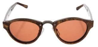 Alexander Wang Round Frame Tinted Sunglasses