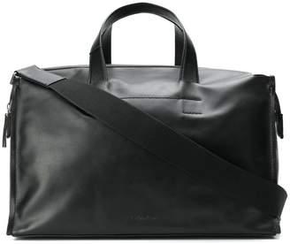 Calvin Klein calf leather weekend bag