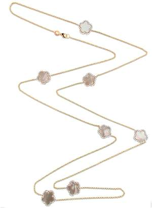 Mother of Pearl Cosanuova - Gold Clover Necklace