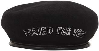 Azs Tokyo I CRIED FOR YOU DISTRESSED BERET