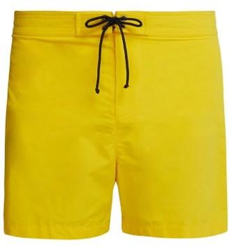 Bower - Slim Fit Swimshorts - Mens - Yellow